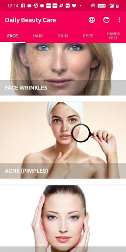 Daily Beauty Care - Skin, Hair, Face, Eyes  Screenshots 1