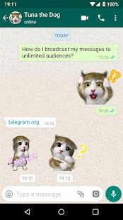 Neue Aufkleber für Chating - Stickers for WhatsApp Screenshot