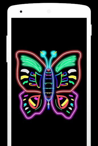 Magic Doodle Art - Neon Paint Art - Neon Color Art screenshots 1