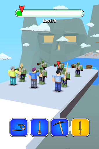 Roblock Transform Run - Epic Craft Race apkpoly screenshots 14