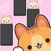 고양이와 피아노타일 - 방꾸미기