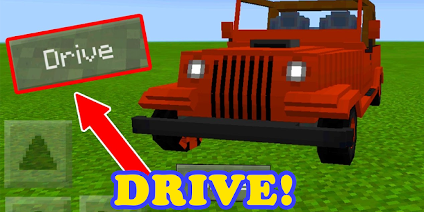 Cars mod for MCPE For Pc – Free Download – Windows And Mac 1