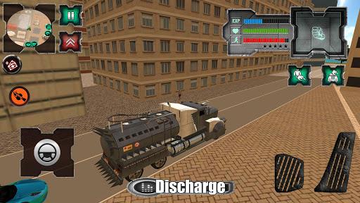 Flying Dragon Robot Simulator :Transformation War  Screenshots 2