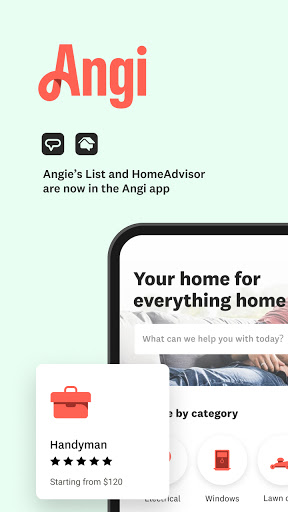 Angi: Find Pros for Home Improvement & Repairs  screenshots 1