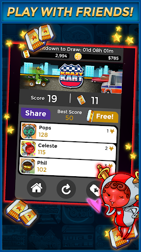 Krazy Kart - Make Money Free 1.2.1 Screenshots 8
