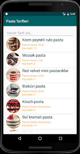 İnternetsiz Pasta Tarifleri  screenshots 1