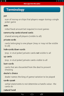 Poker Rules Quikies