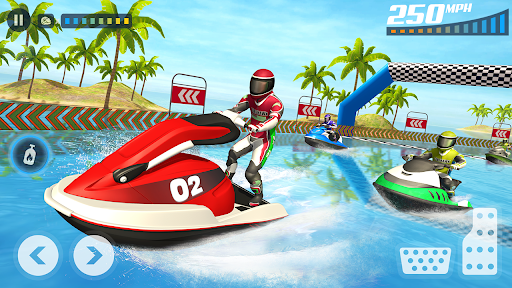 Jet Ski Stunts Racing Games - New Water Games 2021  screenshots 1