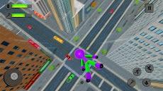 Flying Hero Stickman Rope Hero Grand Crime Cityのおすすめ画像4