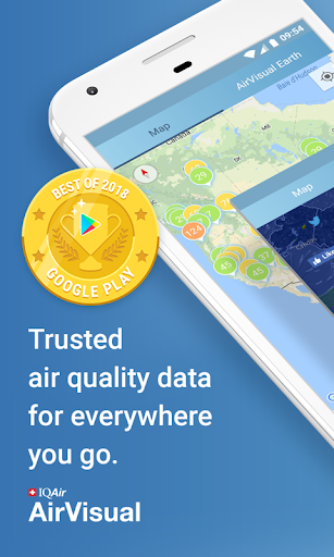 Air Quality | AirVisual 5.5.2-1.1 screenshots 1