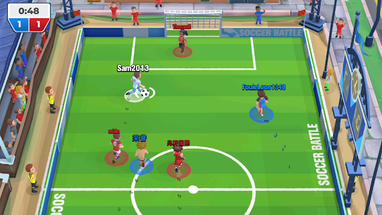 Soccer Battle – 3v3 PvP Mod Apk (Unlimited Money/Golds) 3
