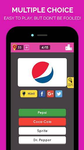 Brand Logo Quiz: Multiplayer Game 2.5.1 Screenshots 1