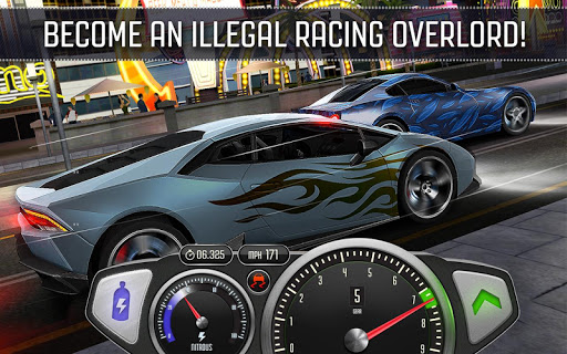 Top Speed: Drag & Fast Racing 1.37.1 screenshots 4