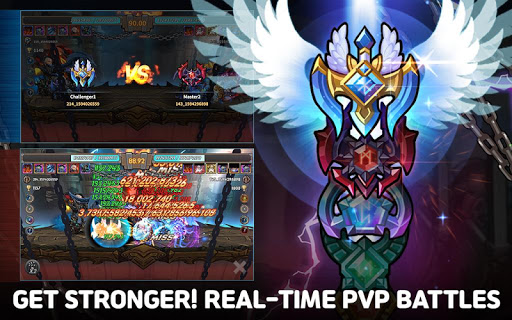Raid the Dungeon : Idle RPG Heroes AFK or Tap Tap apkmr screenshots 14