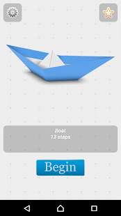 Oirgami Boats Instructions 3D