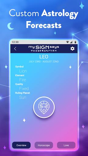 MySignSays - Love Horoscope, Zodiac & Tarot Cards modavailable screenshots 5