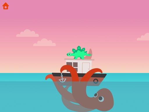 Dinosaur Patrol Boat - Coast Guard Games for kids apkmr screenshots 10