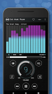 Dub Music Player - Free Audio Player, Equalizer ud83cudfa7 5.2 Screenshots 5
