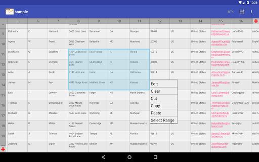 CSV Editor  Screenshots 14