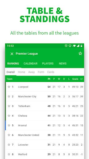 SKORES - Live Football Scores 3.7.6 Screenshots 5
