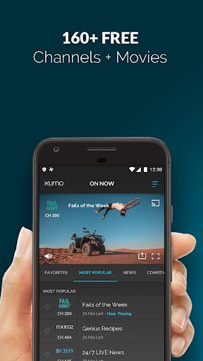 XUMO: Free Streaming TV Shows and Movies  screenshots 1