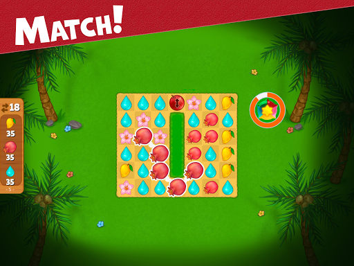 Island Puzzle: story basiertes game. Match offline  screenshots 14