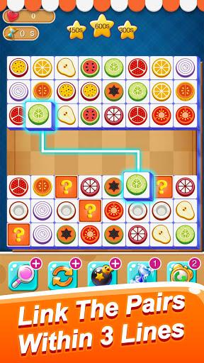 Fruit Connect: Onet Fruits, Tile Link Game Apkfinish screenshots 5