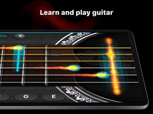 Guitar - play music games, pro tabs and chords! screenshots 12