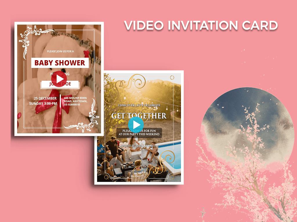 Video Invitation Maker - Create eCards  poster 7