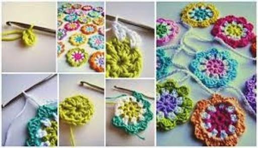 Tutorial learn crochet step by step screenshots 3
