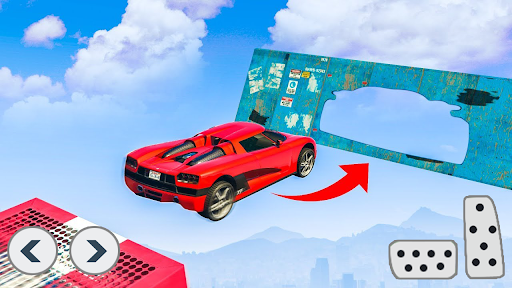 Superhero Car Stunts - Racing Car Games 1.0.7 screenshots 10