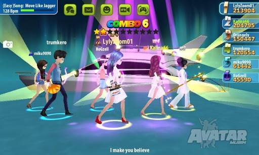 AVATAR MUSIK WORLD - Music and Dance Game 1.0.1 Screenshots 7