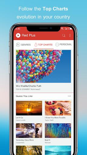 Free Music - Red Plus 1.89 Screenshots 1