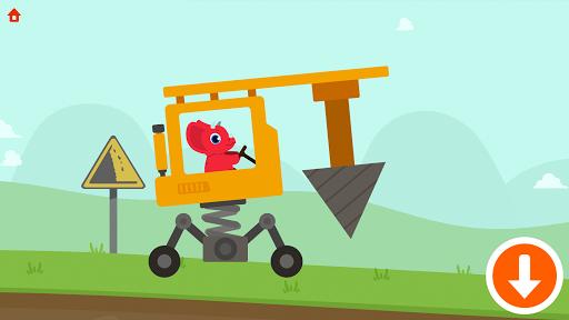 Dinosaur Digger 2 - Truck Simulator Games for kids  screenshots 2