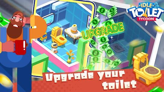 Idle Toilet Tycoon Mod 1.2.5 Apk (Unlimited Gold/Diamonds) 5