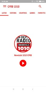 CFRB 1010 Newstalk Radio Toronto 1.2 Mod APK Updated Android 1