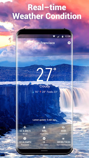 free weather widget pro. screenshot 2