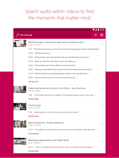 Microsoft Stream  Screenshots 9