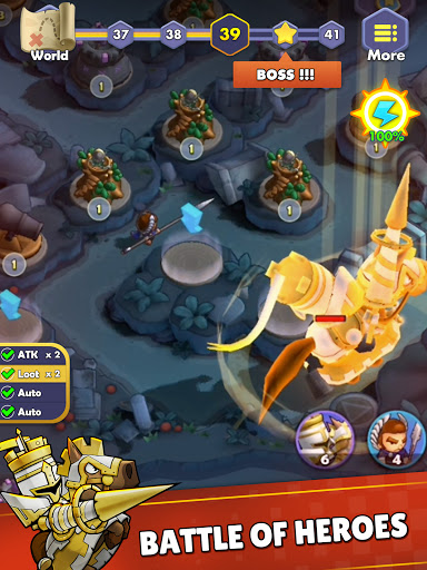 Mini War:Idle Tower Defense Varies with device screenshots 16