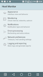 Network Host Monitor