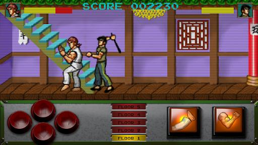 Retro Kung Fu Master Arcade screenshots 3