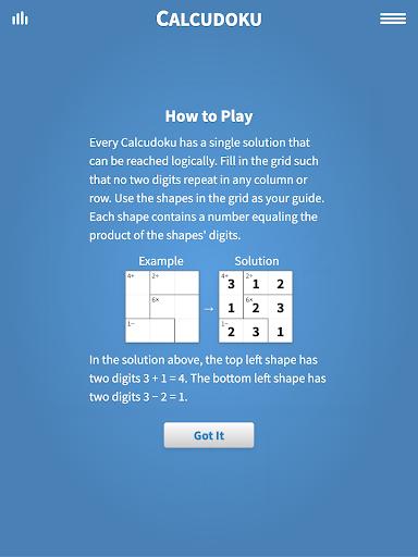 Calcudoku u00b7 Math Logic Puzzles Apkfinish screenshots 4