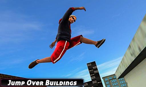 City Rooftop Parkour 2019: Free Runner 3D Game 1.3 APK screenshots 5