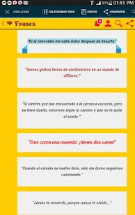 Phrases for all occasions - Frases, Estados y mas! Screenshot