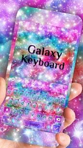 Fancy Galaxy Keyboard Theme 10001005 Mod APK Latest Version 1