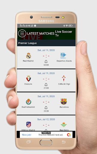 Live Soccer tv - Live Football App ab.1.0.1 Screenshots 4
