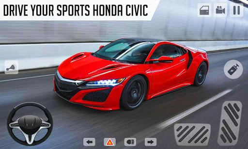 Drifting and Driving Simulator: Honda Civic Games 1.18 screenshots 3