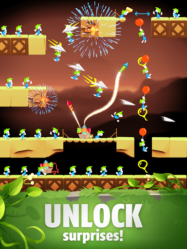 Lemmings - Puzzle Adventure screenshots 14