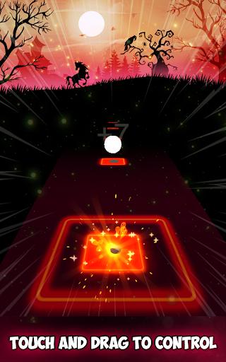 Neon Tiles Hop Color Ball : Forever Dancing Ball 1.5 screenshots 3