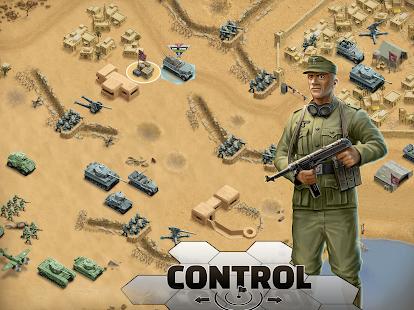 1943 Deadly Desert - a WW2 Strategy War Game screenshots 12
